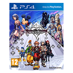Kingdom Hearts HD 2.8 Final Chapter Prologue PlayStation 4 Cover Art