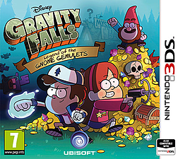 Gravity Falls: Legend of the Gnome Gemulets 3DS