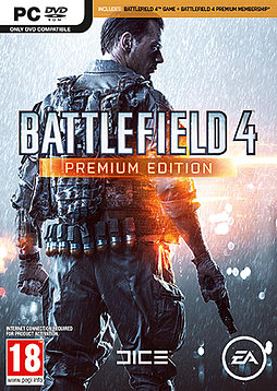 Battlefield 4: Premium Edition PC Games Cover Art