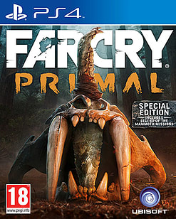 Far Cry Primal Special Edition PlayStation 4 Cover Art