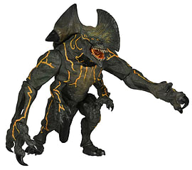 Pacific Rim Seriers 3 Kaiju Ultra Deluxe Trespasser Figurines and Sets