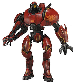 Pacific Rim 7 Inch Delux Figure EssentiaL Jaeger Crimson Typhoon Figurines and Sets