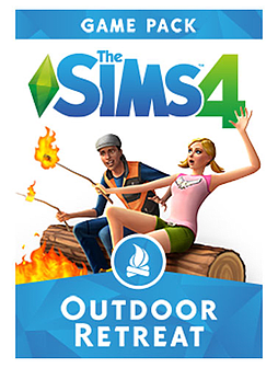 The Sims 4 Outdoor Retreat PC Downloads Cover Art
