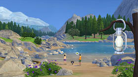 The Sims 4 Outdoor Retreat screen shot 1