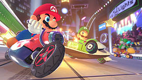 Black Wii U Premium with Mario Kart 8 and Splatoon Multiplay Bundle screen shot 6