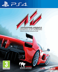 Assetto Corsa PlayStation 4 Cover Art