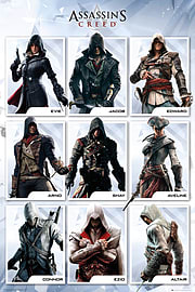 Assassins Creed Compilation Maxi Poster 61cmx91.5cm Posters