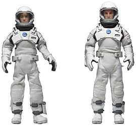 Interstellar Cooper & Brand Box Set Clothed Figures 8 2 Pack Figurines and Sets
