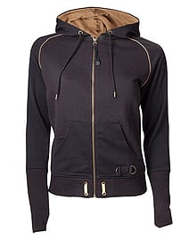Assassin's Creed Syndicate - Female Black Hoody - Small Small