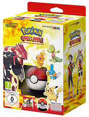 Pokémon Omega Ruby Starter Kit 3DS Cover Art