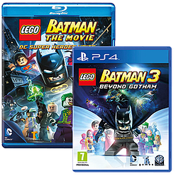 LEGO Batman 3 Giftpack Playstation 4 Cover Art