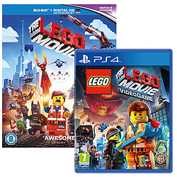 LEGO Movie Giftpack Playstation 4 Cover Art