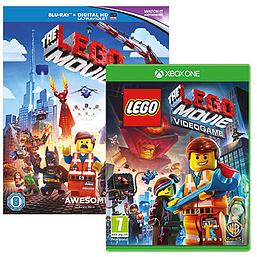 LEGO Movie Giftpack Xbox One Cover Art