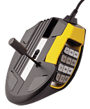 Corsair Scimitar Yellow Optical Gaming Mouse screen shot 5