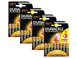 Duracell Plus Power Aaa 4 X Mn2400b5+3 Multi Format and Universal