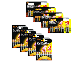 Duracell Bundle Plus Power 4x Aa/aaa 5+3 Multi Format and Universal
