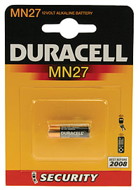 Duracell 12v Security Cell Multi Format and Universal