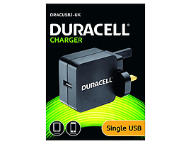Duracell Usb Phone & Tablet Charger 2.4a Tablet