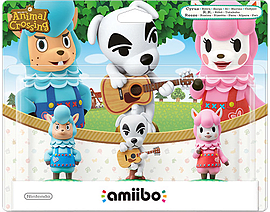Animal Crossing amiibo Triple Pack Toys and Gadgets