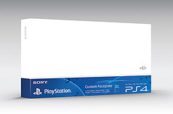 Official PlayStation 4 HDD Cover - Glacier White Accessories