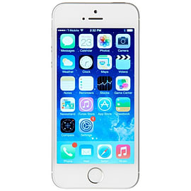 Apple Iphone 5s 16gb Silver - Unlocked - Good Phones