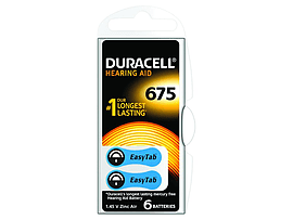Duracell 1.4v Hearing Aid Cell (6 Pack) Multi Format and Universal