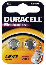Duracell 1.5v Cell (pack Of 2) Multi Format and Universal