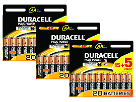 Duracell Plus AA 60 Pack Multi Format and Universal