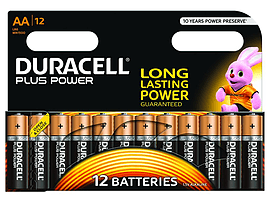 Duracell Plus Power AA 12 Pack Multi Format and Universal