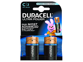 Duracell Ultra Power C Size 2 Pack Multi Format and Universal