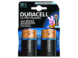 Duracell Ultra Power D Size 2 Pack Multi Format and Universal