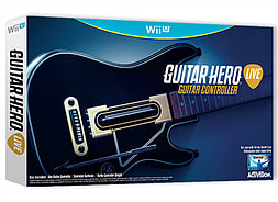 Guitar Hero LIVE Guitar For Nintendo Wii U Wii U Cover Art