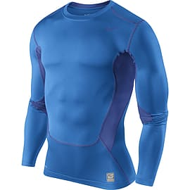 Nike Hypercool Compression Ls Top (blue) - Xl 46-48 Chest (112-124cm) Clothing
