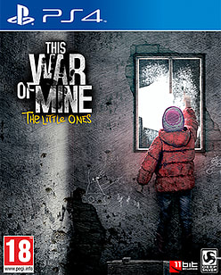 This War Of Mine: The Little Ones PlayStation 4 Cover Art