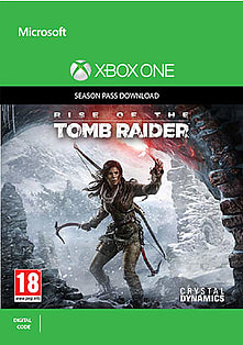 Rise of the Tomb Raider Season Pass Xbox One Cover Art