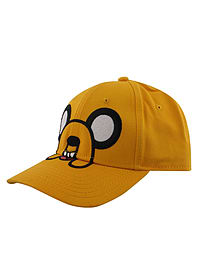 Adventure Time Jake Adjustable Yellow At Cap: One Size Fits All Clothing
