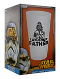 Star Wars I Am Your Father Drinking Glass 14.5cm screen shot 2