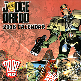 Judge Dredd 2016 Square Calendar 30.5x30.5cm Books