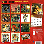Judge Dredd 2016 Square Calendar 30.5x30.5cm screen shot 1