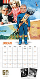 Thunderbirds Classic 2016 Square Calendar 30x30cm screen shot 2