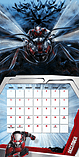 Marvel Comics Ant Man 2016 Square Calendar 30x30cm screen shot 2