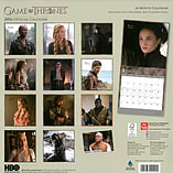 Game Of Thrones 2016 Square Calendar 30.5x30.5cm screen shot 1
