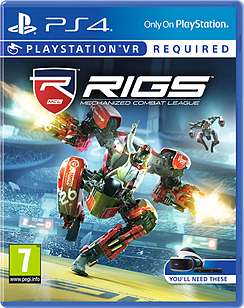RIGS Playstation 4 Cover Art