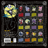 The Nightmare Before Christmas Nbx 2016 Square Calendar 30x30cm screen shot 1