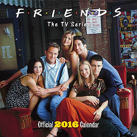 Friends Tv 2016 Square Calendar 30x30cm Books