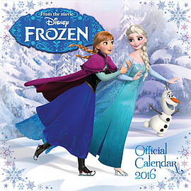 Disney Frozen 2016 Square Calendar 30x30cm Books