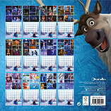 Disney Frozen 2016 Square Calendar 30x30cm screen shot 1