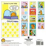 Garfield's Art Of Relaxation 2016 Square Calendar 30.5x30.5cm screen shot 1