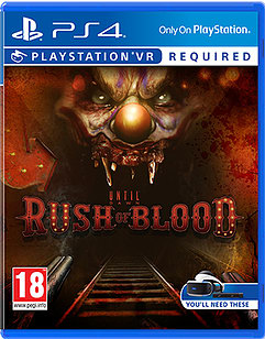 Until Dawn: Rush of Blood Playstation 4 Cover Art