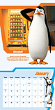 Penguins Of Madagasgar 2016 Square Calendar 30x30cm screen shot 2